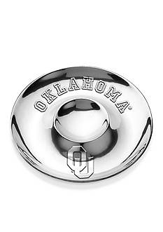 Wilton Armetale Oklahoma Sooners Chip and Dip Tray