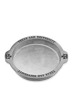 Wilton Armetale Texas A & M Aggies Grillware Deep Dish Pizza Tray