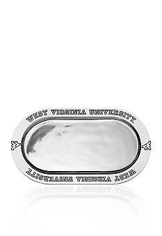 Wilton Armetale West Virginia Mountaineers Bread Tray