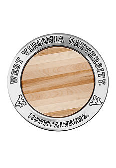 Wilton Armetale West Virginia Mountaineers Small Cheeseboard