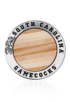 Wilton Armetale South Carolina Gamecocks Small Round Cheese Board