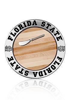 Wilton Armetale Florida State Seminoles Small Round Cheese Board