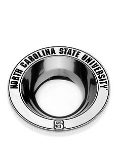 Wilton Armetale NC State Wolfpack Medium Round Bowl