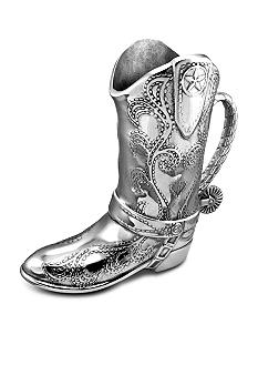 Wilton Armetale Cowboy Boot 2 Quart Pitcher - Online Only