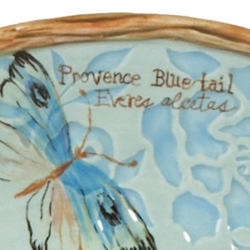 For The Home: Fitz And Floyd Dining & Entertaining: Blue Fitz and Floyd Toulouse Covered Vegetable Dish