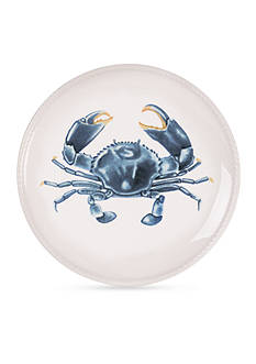 Fitz and Floyd Cape Coral Crab Accent Plate