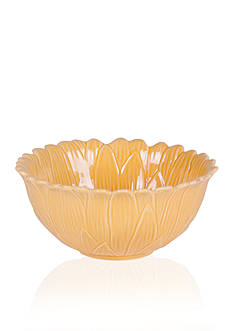 Fitz and Floyd Savannah Home Flower Fruit Bowl