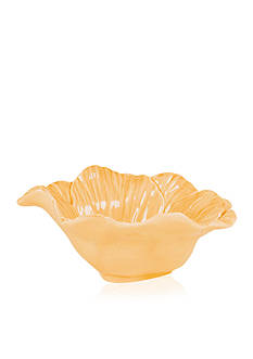 Fitz and Floyd Savannah Home Flower Bowl