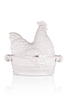 Fitz and Floyd Savannah Home Covered Vegetable Dish