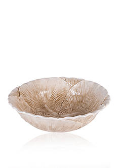 Fitz and Floyd Carrington Cabbage Serving Bowl