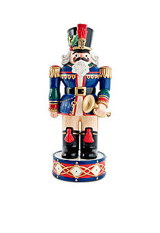 Fitz and floyd holiday nutcracker blue belk for 4 foot nutcracker decoration