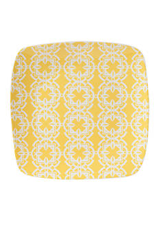 Fitz and Floyd Color Soft Square Salad Plate, Yellow
