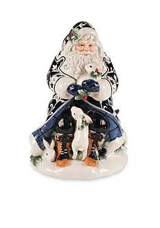 Fitz and Floyd Bristol Holiday Santa Cookie Jar
