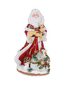 Fitz and Floyd Yuletide Holiday Santa Musical - Tune: Joy To The World