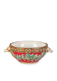 Fitz and Floyd Yuletide Holiday All Purpose Bowl