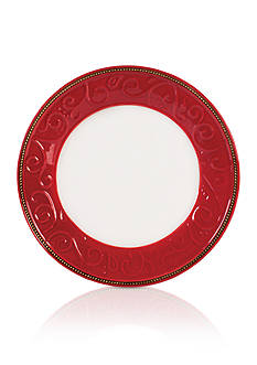 Fitz and Floyd Yuletide Holiday Dinner Plate