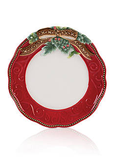Fitz and Floyd Yuletide Holiday Salad Plate