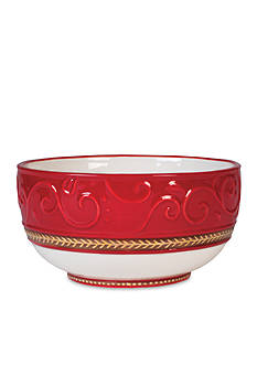 Fitz and Floyd Yuletide Holiday Collection Bowl