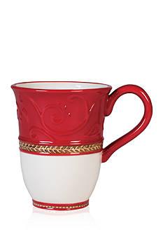 Fitz and Floyd Yuletide Holiday Mug