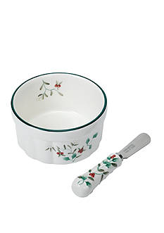 Pfaltzgraff Winterberry Dip Mix Set
