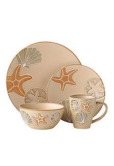 Pfaltzgraff Everyday Sandy Shore 16pc Set
