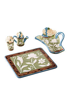 Pfaltzgraff Patio Garden 4-Piece Kitchen Set