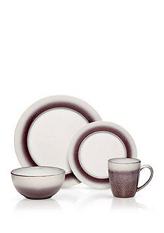 Pfaltzgraff Eclipse Plum 16-Piece Dinnerware Set