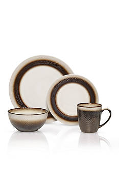 Pfaltzgraff Eclipse Bronze 16-Piece Dinnerware Set