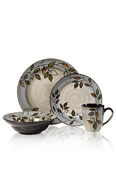 Pfaltzgraff Everyday Rustic Leaves 16 Piece Set