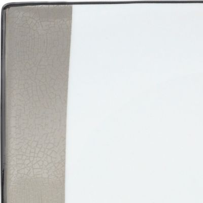 For the Home: Platinum Banded Sale: Multi Mikasa Shimmer Square 4-Piece Place Setting
