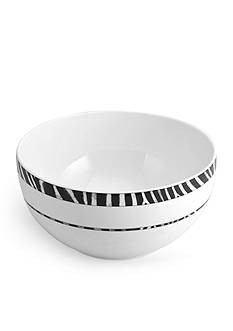 Mikasa Wild Zebra Vegetable Bowl