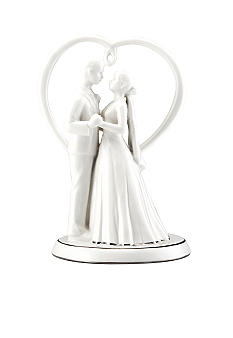 Mikasa Love Story Cake Topper Porcelain White Boxed