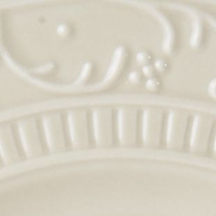 Mikasa For The Home Sale: Beige Mikasa Italian Countryside Scroll Salad Plate