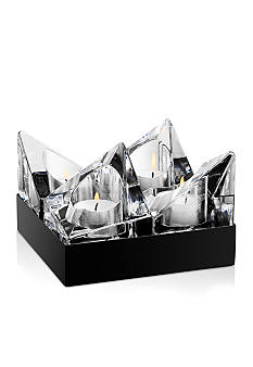 Orrefors Edgy Votive Black Box 4pc