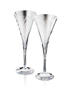 Orrefors Memorable Moments MM Helena Champagne Bride & Groom- 2pk