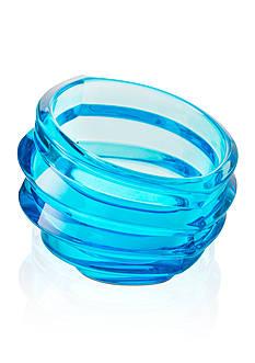 Orrefors Eko Blue Bowl