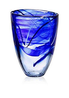 Kosta Boda Vase H: 8-in. W: 6-in.