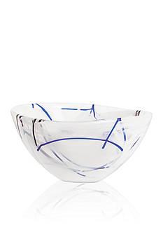 Kosta Boda White Contrast Small Bowl
