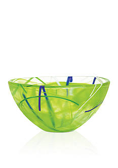 Kosta Boda Lime Contrast Small Bowl