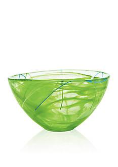 Kosta Boda Lime Contrast Medium Bowl