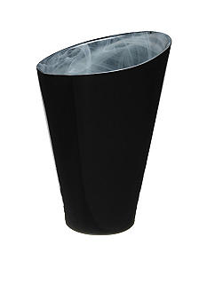 Kosta Boda SEA Candy Large Vase- Black