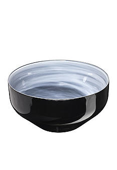 Kosta Boda SEA Sweet Large Bowl Black