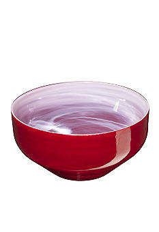 Kosta Boda SEA Sweet Large Bowl- Red