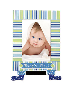 Gorham Merry-Go-Round Little Boy Blue Baby's First 5x7 Frame