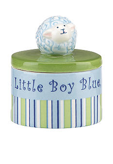 Merry-Go-Round Little Boy Blue Round Trinket Box