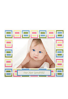 Gorham Merry-Go-Round Pitter Patter Our New Grandchild 5x7 Frame