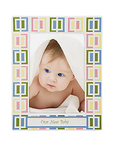 Gorham Merry-Go-Round Pitter Patter Our New Baby 5x7 Frame