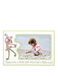 Gorham Merry-Go-Round Little Girl with a Curl 4x6 Character Frame