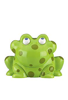 Gorham Merry-Go-Round Pitter Patter Frog Bank