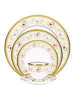 Blooming Splendor 5 Piece Plate Setting